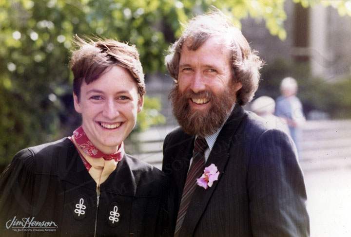 Lisa y Jim Henson.